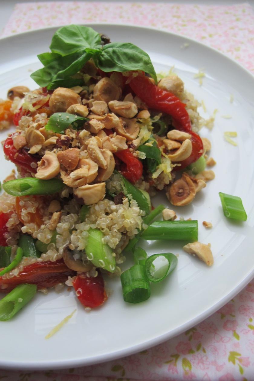 Mut-zur-Lücke-Quinoa-Salat