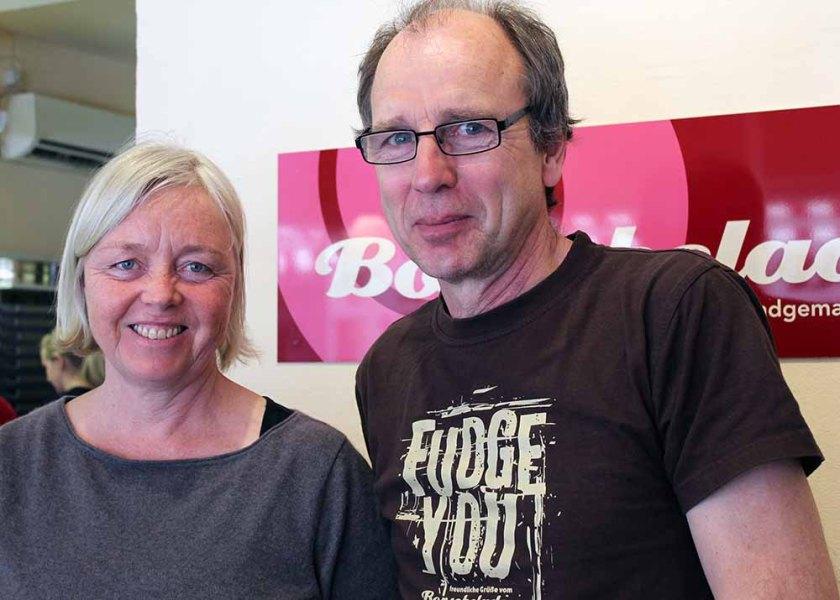 Andrea Bock und Uwe Sponhagel