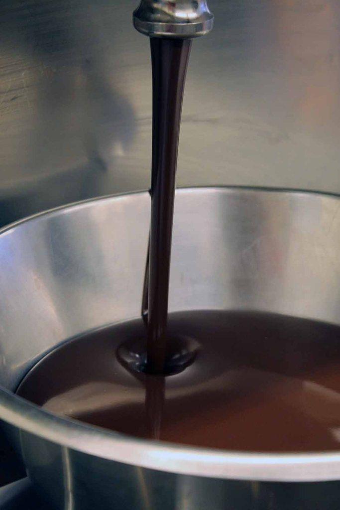 Konstante Temperatur ist notwendig bei der Verarbeitung von Schokolade