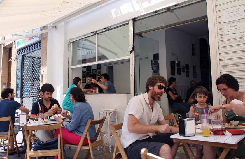 Mittagsbier und Pita @ Pitacasso