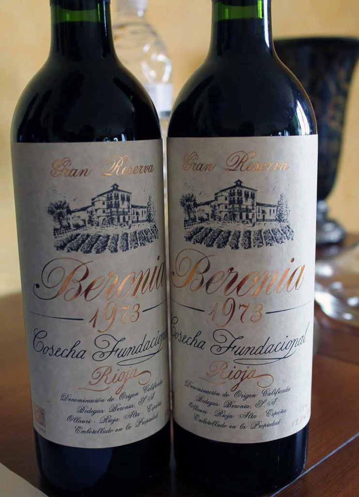 Wein aus dem Gründungsjahr