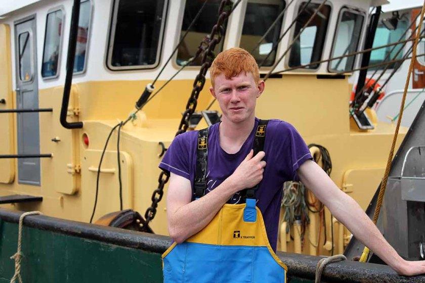 schaut dieser holländische Fischer nicht wie der wahr gewordene Fischer Fritz aus?
