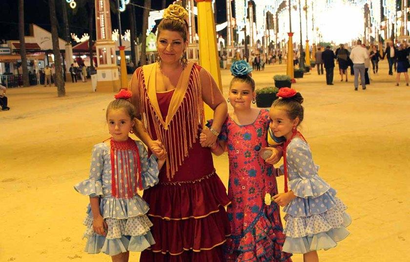 Bei der Feria gibt es kein Betthupferl, sondern auch die Kleinen amüsieren sich bis spät in die Nacht hinein!