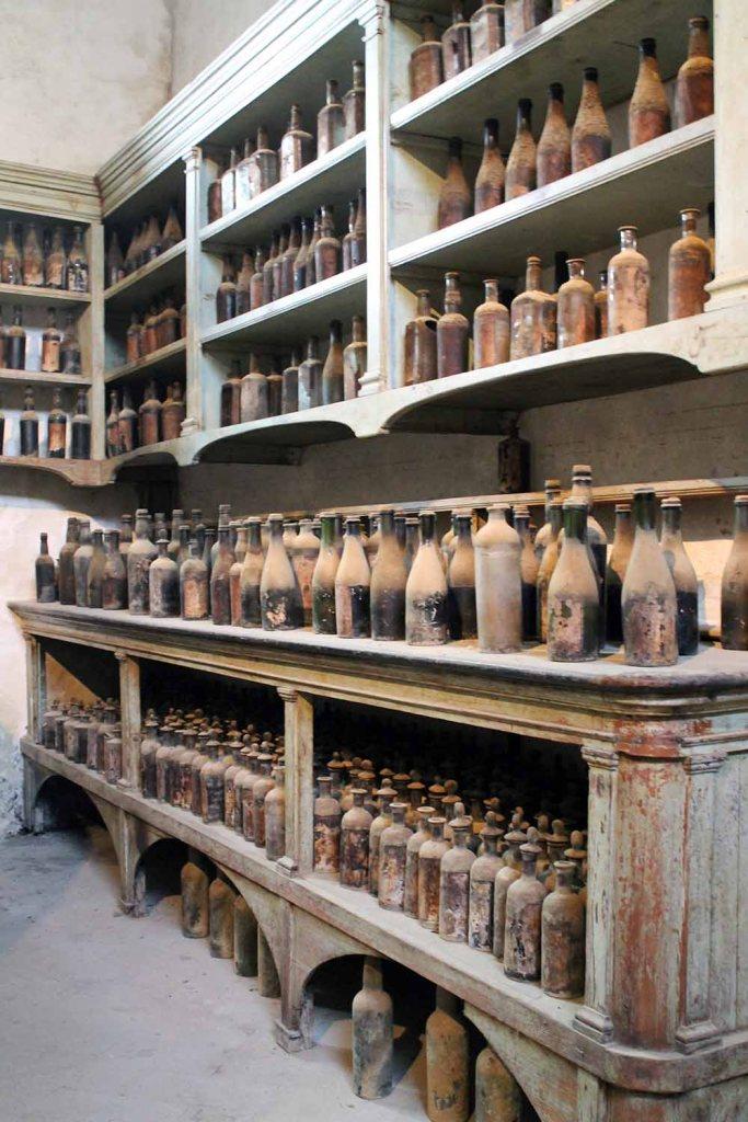 die alte Wirkungsstätte für die Sherryproduktion bei Gonzales Byass