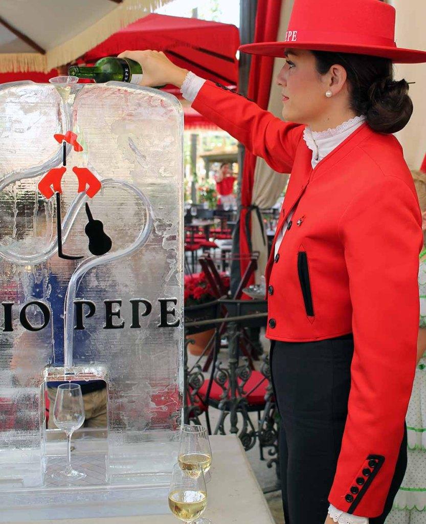 Sherry Fino Tio Pepe eisgekühlt!