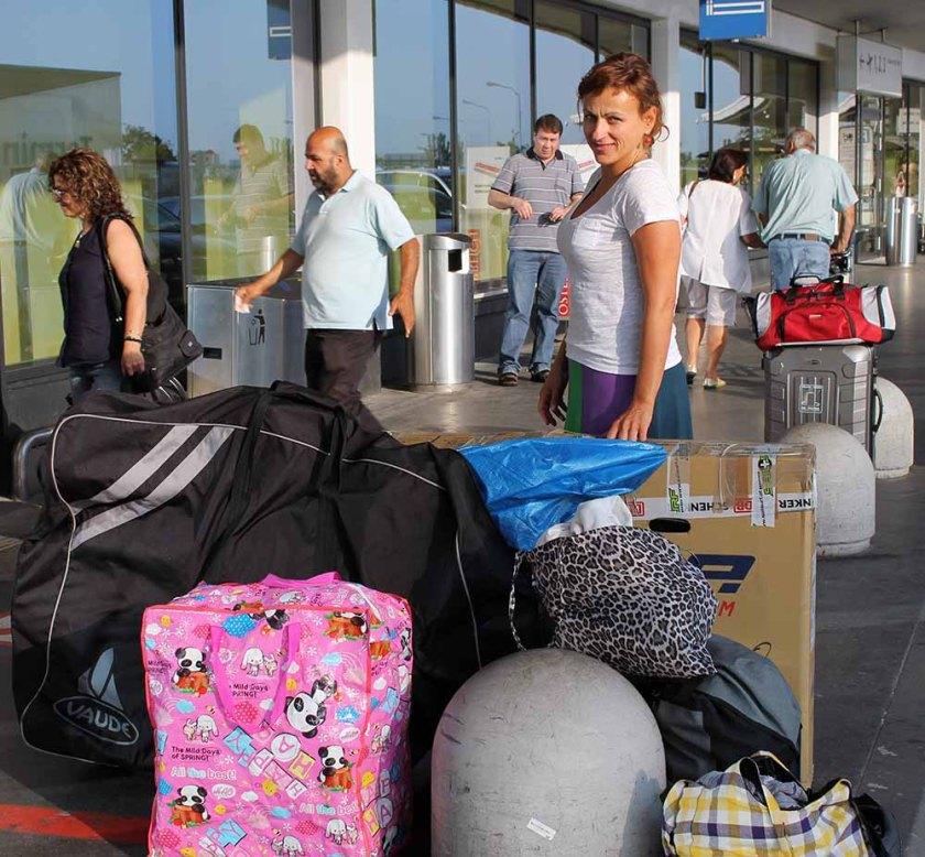 zwei Räder und zwei Damen sind am Weg nach Sardinien