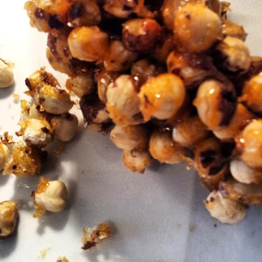 Haselnüsse karamelisiert