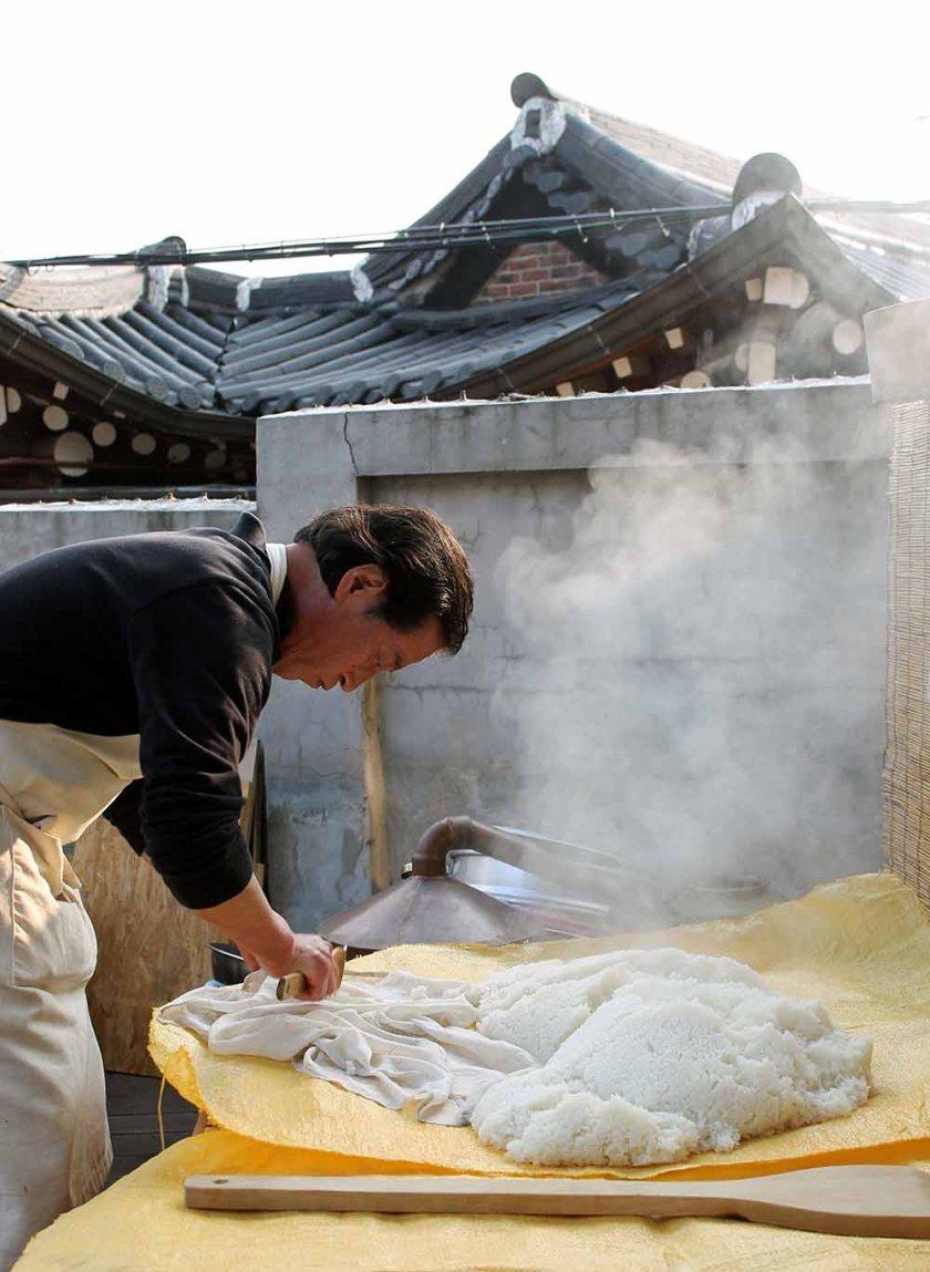 2. Schritt: Reis auskühlen lassen