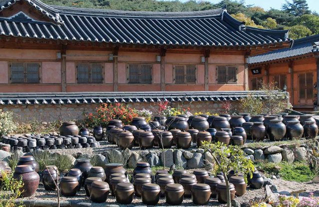 Traditionelles koreanisches Haus