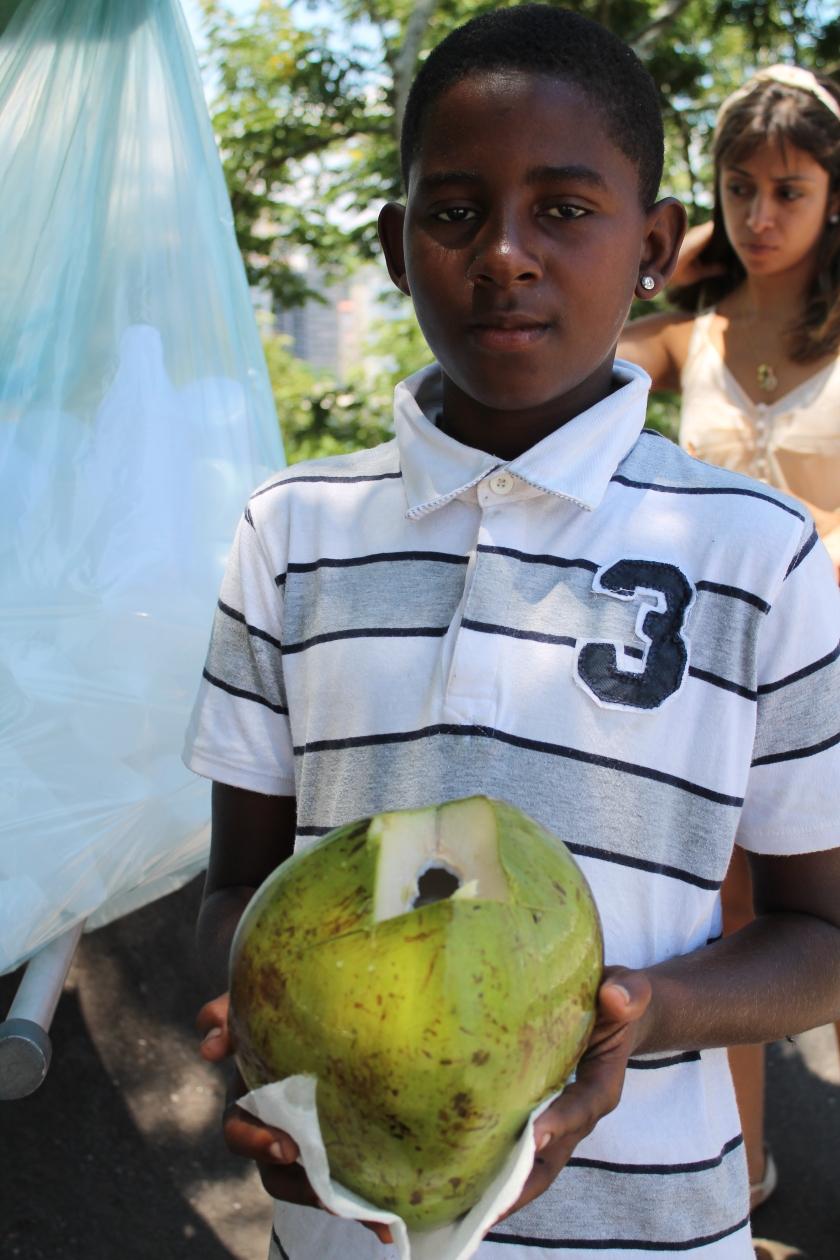 Das brasilianische Nationalgetränk: Agua de Coco