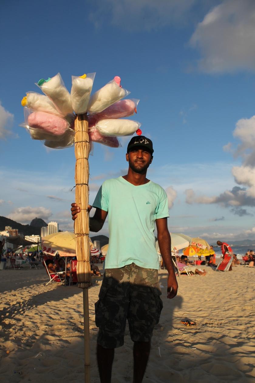 Strandleben auf der Copacabana