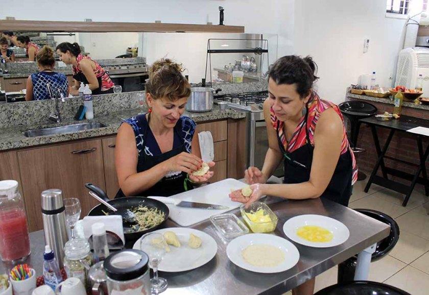 Kochen in der Receitaria