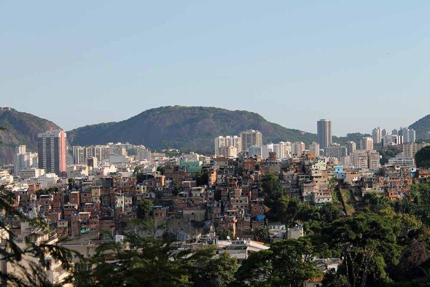 Rio de Janeiro: eine reale Fotomontage