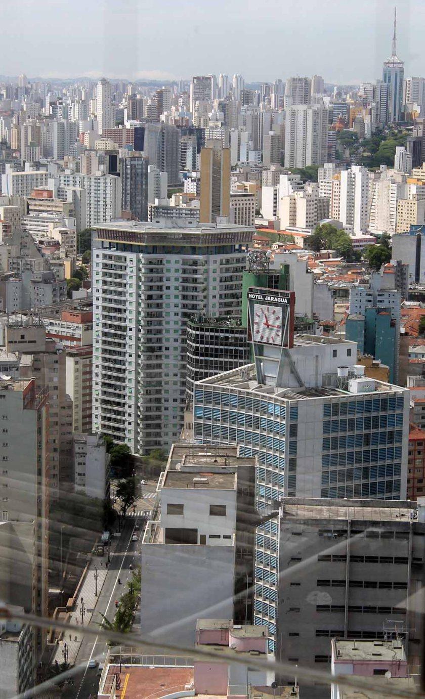 Zentrum von Sao Paulo