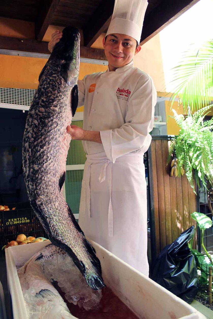 der Zungenbrecher-Fisch, den man in Brasilien kennen muss...
