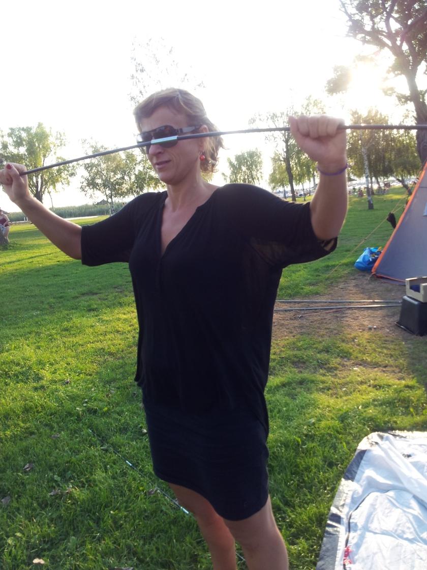 Meine Zelt-Premiere