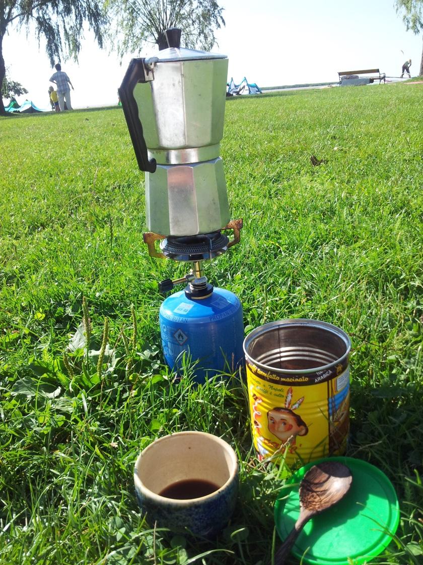 Morgenkaffee mit Freiheitsgefühl!