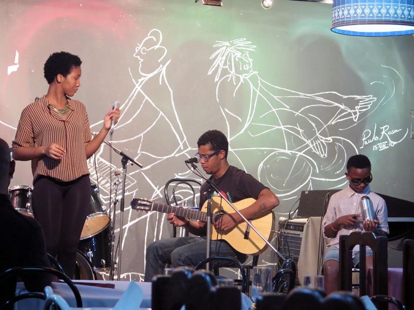 Live-Musik im Quintal da Musica