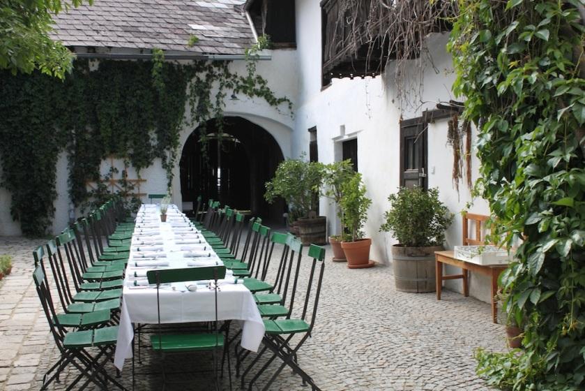 Der Gastgarten von Cordula Hanisch