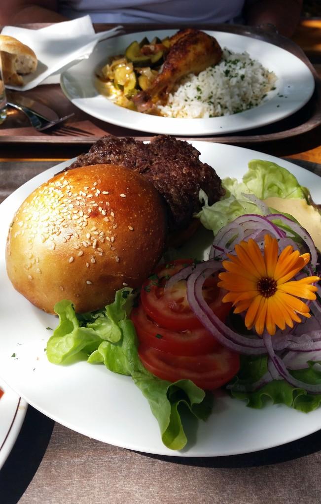 Der Seewirt-Burger... nicht nur eine Augenweide