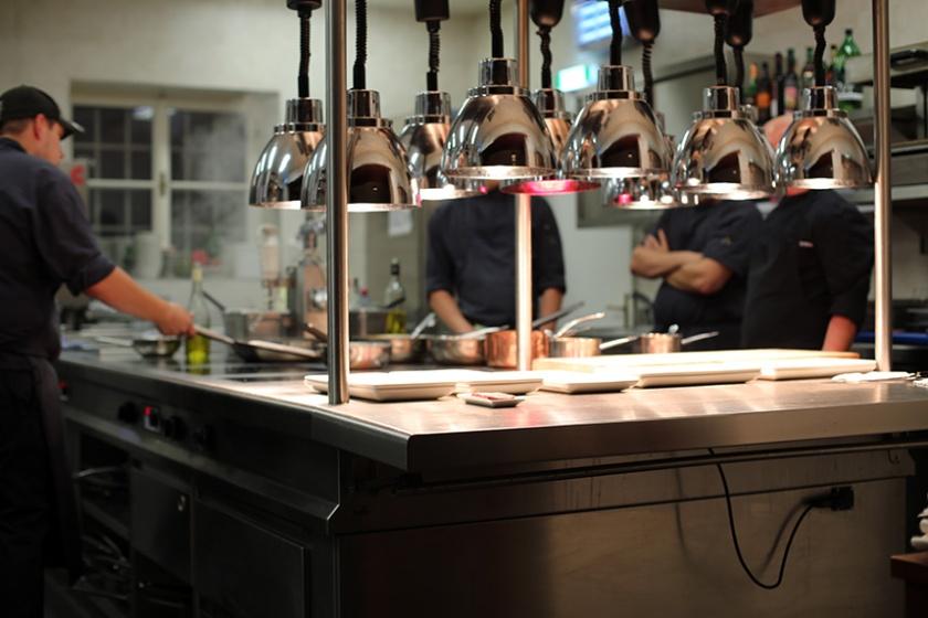 Die Küchenparty mit der Küchenpartie