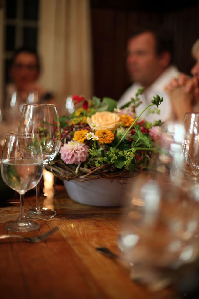 Der Chef Table in der Küche vom G'schlössl Murtal