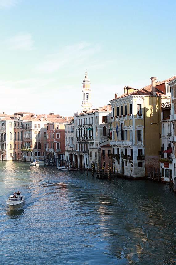 immer schön: Blick von der Accademia Brücke