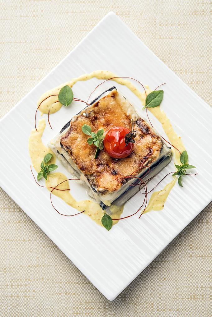 Spargel-Auberginen Lasagne by Martin Scharff